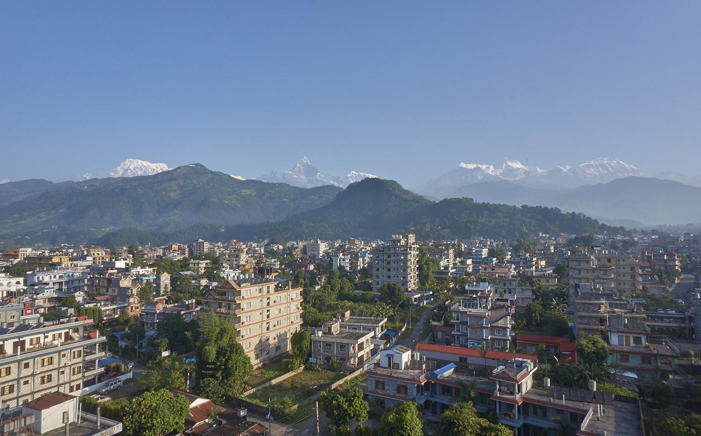 pokhara panorama